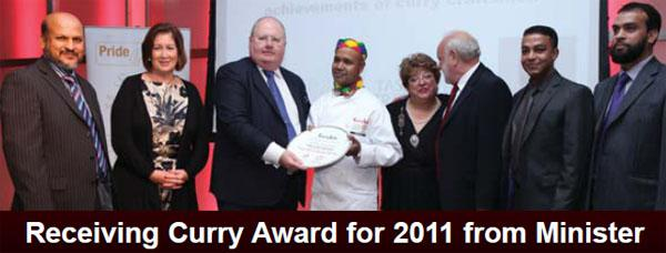 Curry chef of the year 2011/12